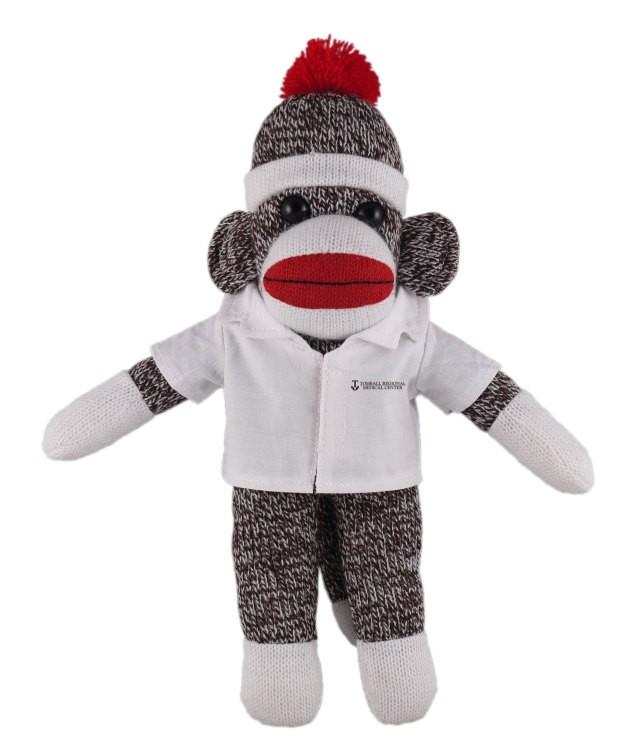 Orginal Sock Monkey Plush In Doctor S Jacket Stuffed Animal Dj