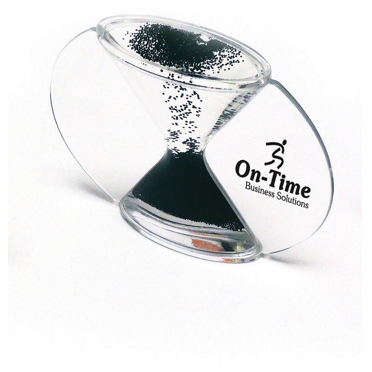 Hour Glass Liquid Crystal Timer