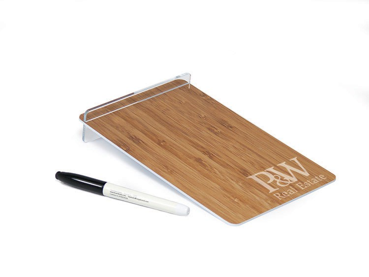 Countertop Dry Erase Board With Clear Stand 5 5 W X 9 H