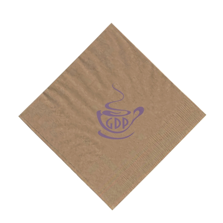 2-Ply Kraft Beverage Napkin