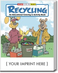 COLORING BOOK - Recycling Coloring & Activity Book - Coloring Book