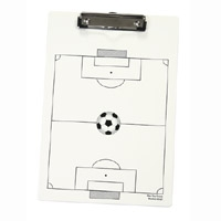Letter Size Clipboard w/ Stock Sports Field Imprint - Wire Clip