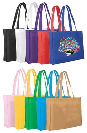 Non-Woven Tote Bag, Full Color Digital
