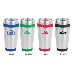 16 OZ Stainless SteelTumbler with Color Trim