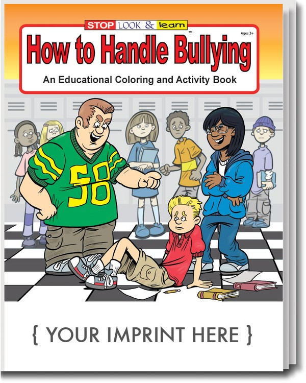 COLORING BOOK - How to Handle Bullying Coloring & Activity Book