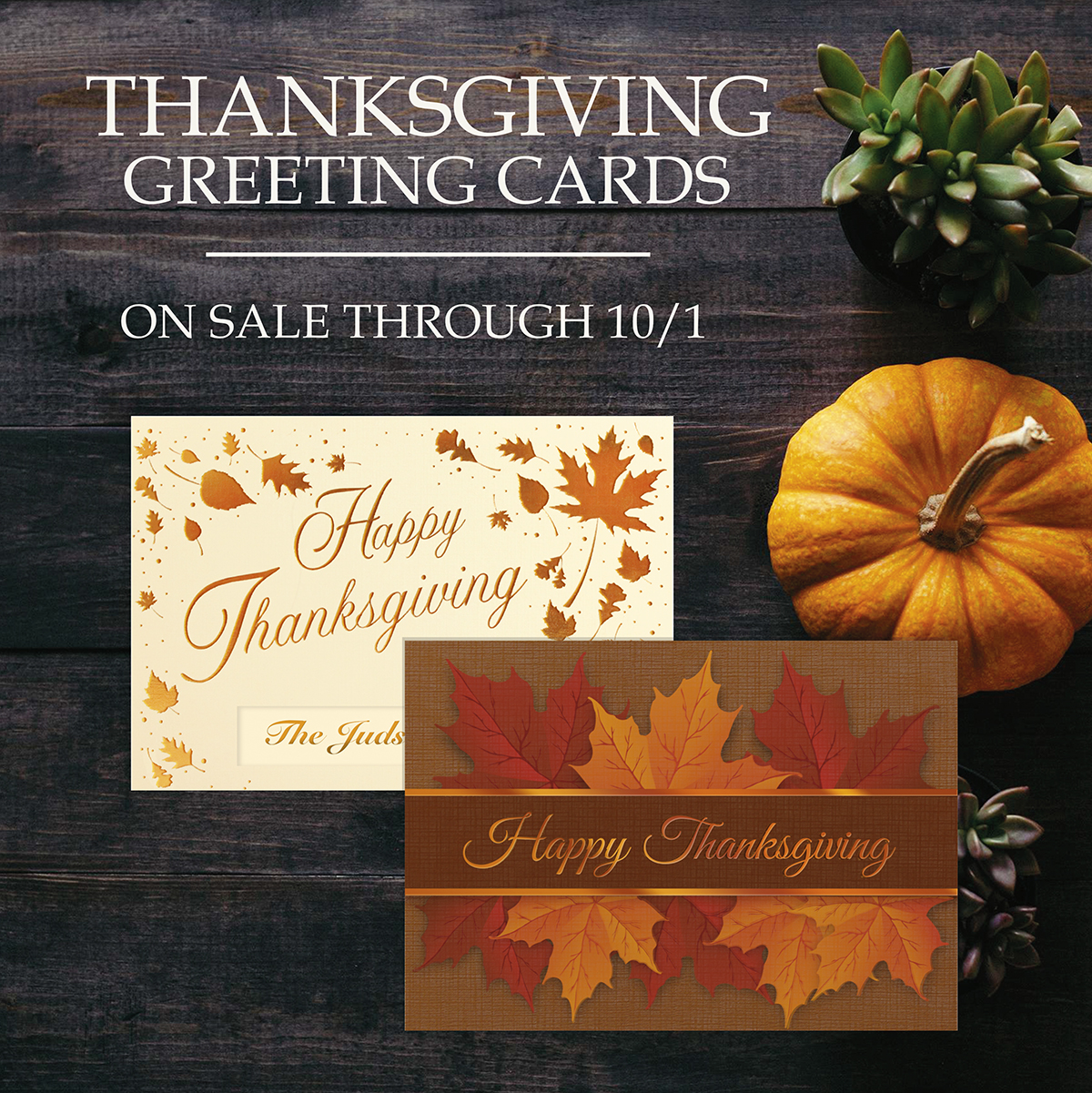 Thanksgiving cards on sale | Warwick Publishing