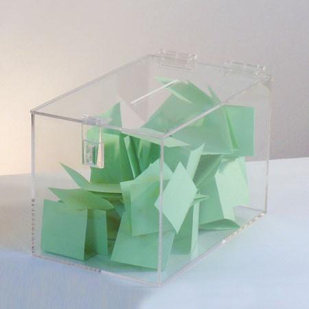 Long Acrylic Entry Box