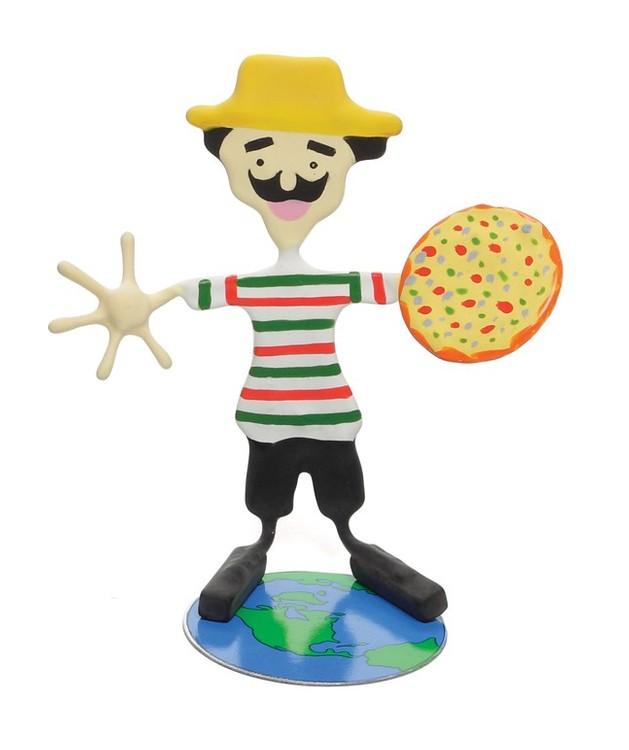 Italian Sal Bender / Benders / Bendeez / figurines / Italy / international / pizza / Italian