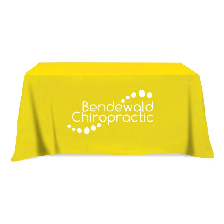225 & Flat 4-sided Table Cover - fits 6 foot standard table