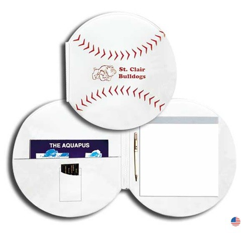 Real Feel Baseball Folder & Pad Holder