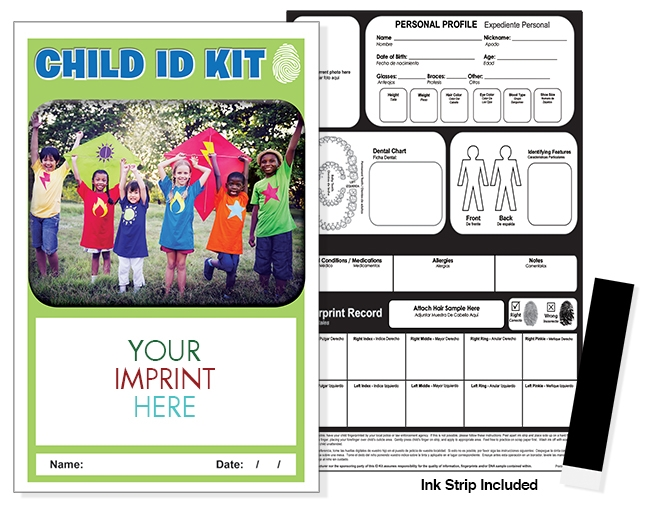 CHILD ID SAFETY KIT - Children