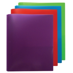 VividsThree Prong Twin Pocket Presentation Folder