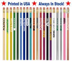 Promotional Printed Pencils with Your Logo & Message (Imported)