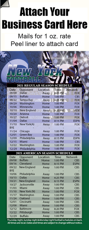 Professional Football-New York