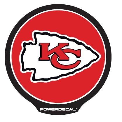 Kansas City Chiefs POWERDECAL