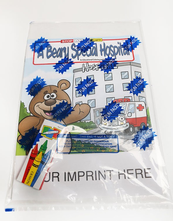 COLORING SET - A Beary Special Hospital Coloring Book Fun Pack ...