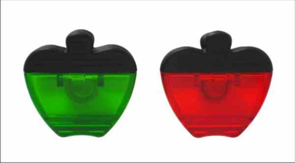 Jumbo Apple Shaped Magnetic Clip
