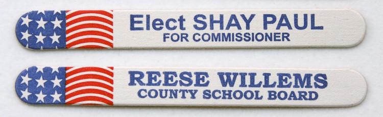 Flag Emery Board