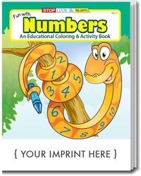 COLORING BOOK - Fun With Numbers Coloring & Activity Book - Coloring Book