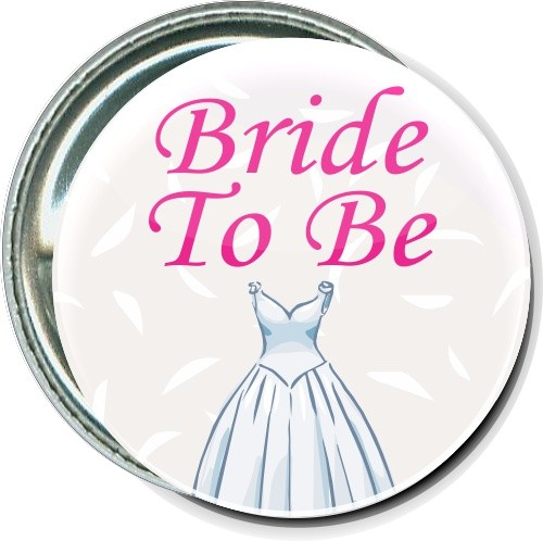 Bride To Be, Wedding Event Button