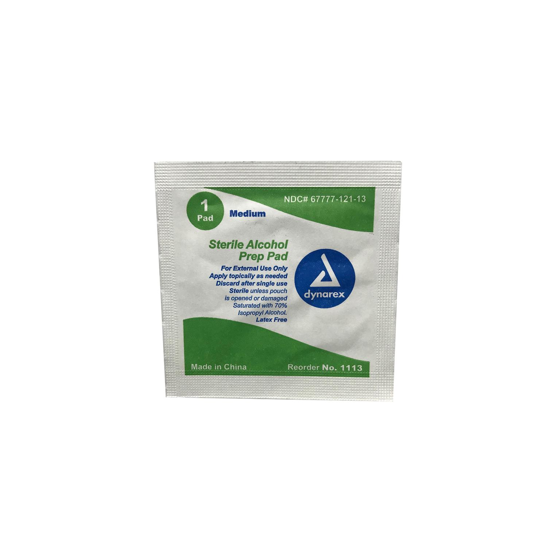 Dynarex Sterile Alcohol Prep Pad