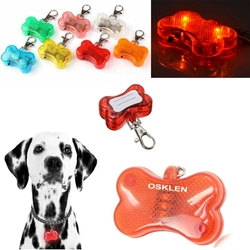 Flashing LED Pet Dog Collar Pendant