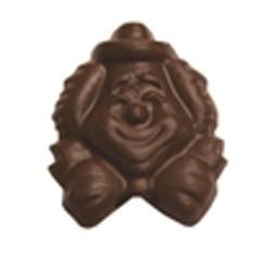 CHOCOLATE CLOWN HEAD