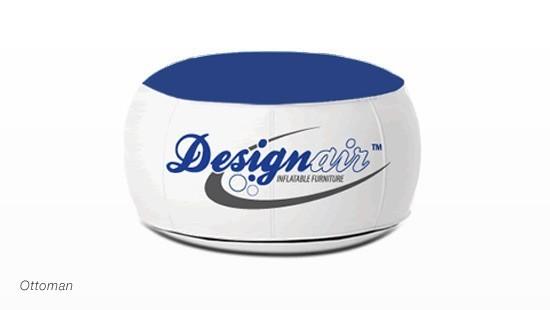 Design-Air™ Ottoman, Yellow (PMS 116)