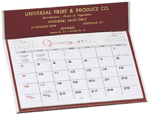 G-3 Desk Calendar