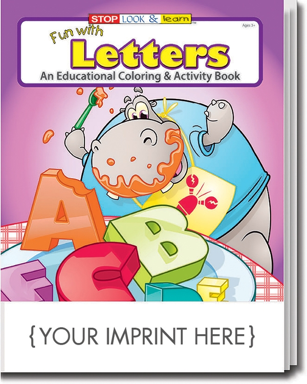 Coloring Book Fun With Letters Coloring Activity Book 0254