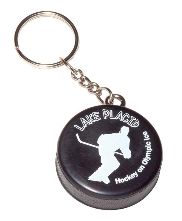Mini Hockey Puck Key Chain