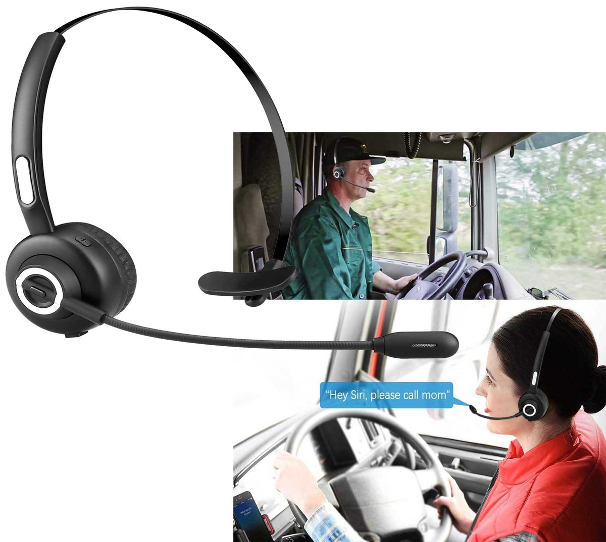 IBank® Bluetooth Headset With Microphone - IM-21