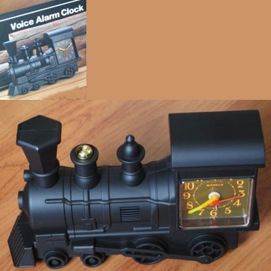 Locomotive Voice Alarm Clock