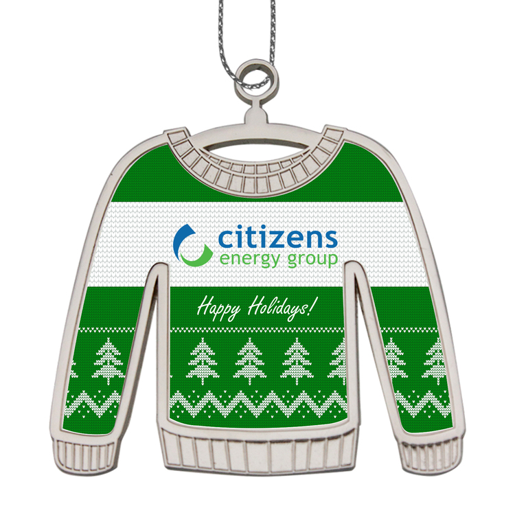 Die Cast Ugly Sweater Holiday Ornaments