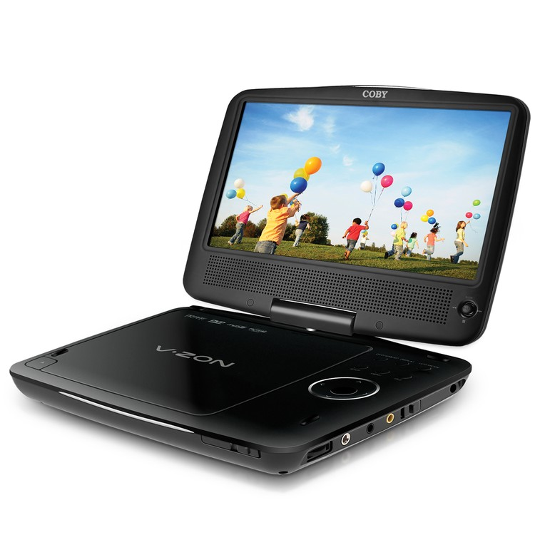 Coby 9 Portable DVD/CD/MP3 Player