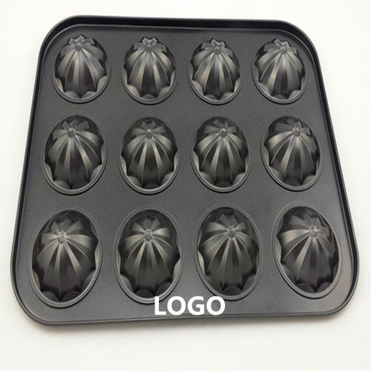 12 Cup Stainless Steel Cupcake/ Muffin Mold Baking Tool
