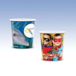 Visstun®-12oz-Reusable White Plastic Cup-Hi-Definition Full-Color, Top-Shelf Dishwasher Safe - Visstun®-12oz-Reusable White Plastic Cup-Hi-Definition Full-Color, Top-Shelf Dishwasher Safe