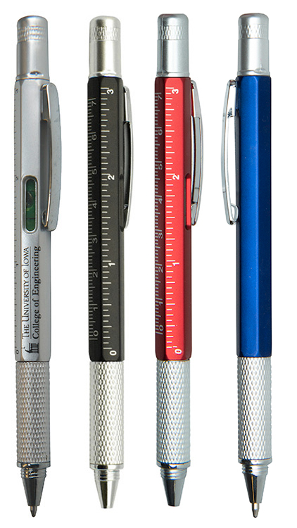 Multi Tool Pen with Level
