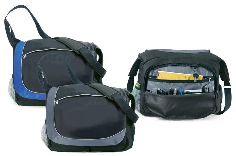 CARRIER MESSENGER BAG-Business cases - Front flap with buckle closure and hide-a-way