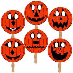 Pumpkin Masks - Standard