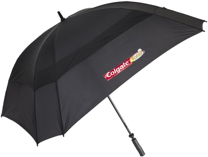 custom umbrellas square logo printed promotional products