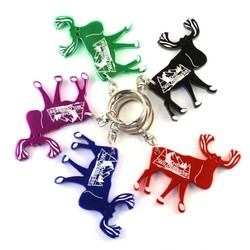 Moose Key Chain / Bottle Opener