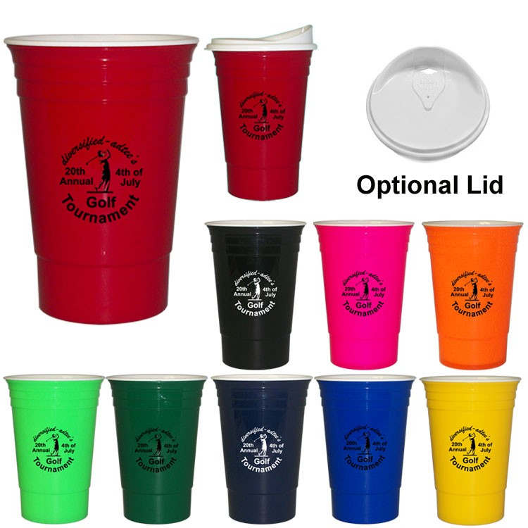 The CUP / Party Cup - Double Wall Insulated16 Oz.