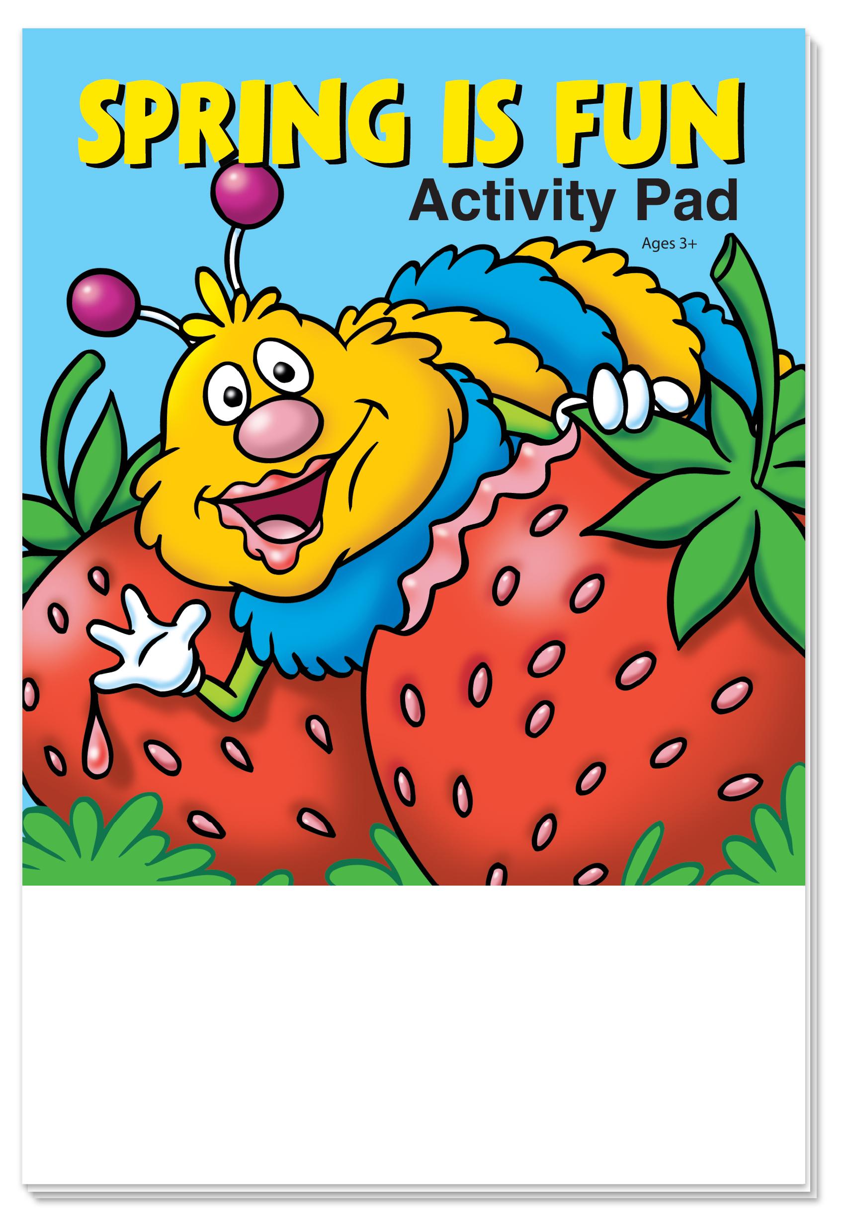 ACTIVITY PAD - Spring is Fun Activity Pad