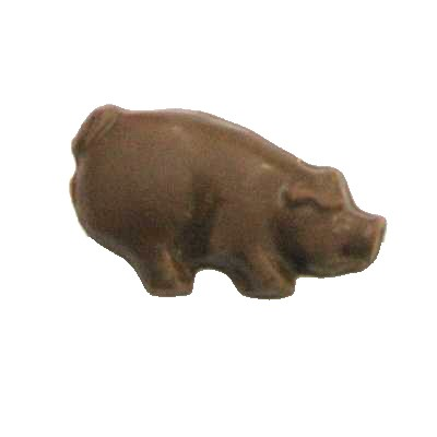 CHOCOLATE PIG - SMALL