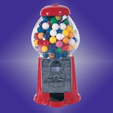 9 H DIE CAST IRON GUMBALL MACHINE