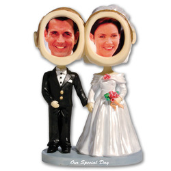 Bride & Groom Bobblehead