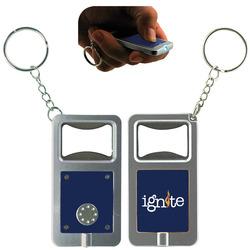 LED Keytag w/Bottle Opener