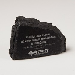 Ridge Rock Paper Weight