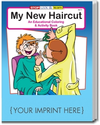 COLORING BOOK - My New Haircut Coloring and Activity Book
